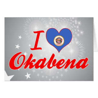 Amo Okabena, Minnesota Felicitacion