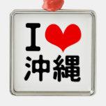 Amo Okinawa Adorno De Navidad