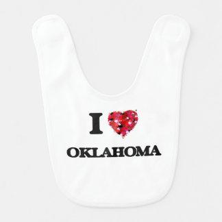 Amo Oklahoma Babero De Bebé