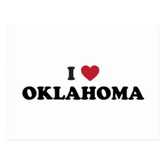 Amo Oklahoma Tarjetas Postales