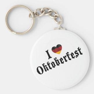 Amo Oktoberfest Llaveros Personalizados