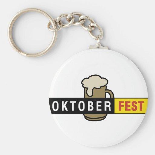 Amo Oktoberfest Llavero Redondo Tipo Pin