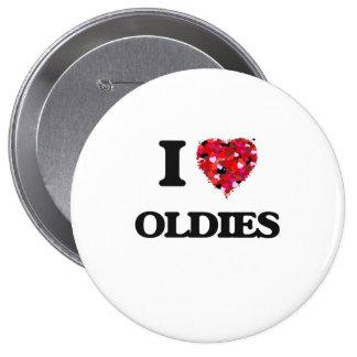 Amo Oldies Pin Redondo 10 Cm