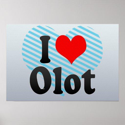 Amo Olot, España Poster
