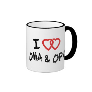 Amo Oma y Opa Taza