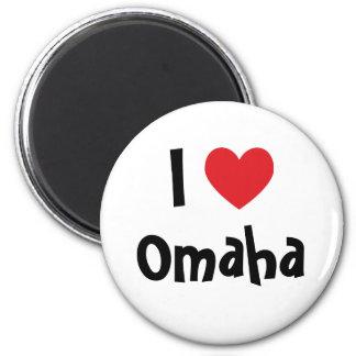 Amo Omaha Imán Redondo 5 Cm