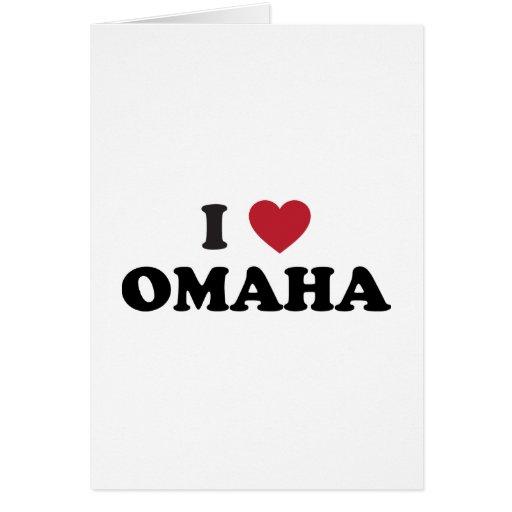 Amo Omaha Nebraska Tarjetón