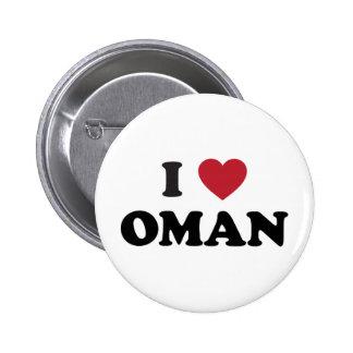 Amo Omán Pin