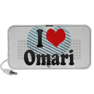 Amo Omari iPod Altavoces