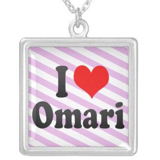 Amo Omari Collares Personalizados