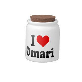 Amo Omari Plato Para Caramelo