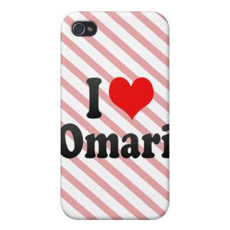 Amo Omari iPhone 4/4S Funda