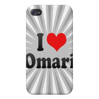 Amo Omari iPhone 4 Cárcasas