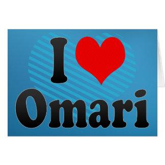 Amo Omari Felicitación