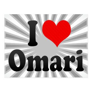 Amo Omari Tarjeta Postal
