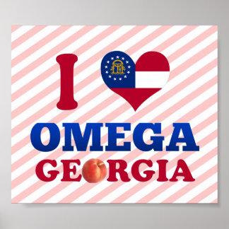Amo Omega, Georgia Posters