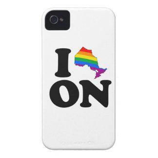 AMO ONTARIO GAY - .PNG Case-Mate iPhone 4 CÁRCASA