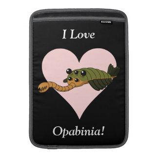 ¡Amo Opabinia! Fundas Para Macbook Air