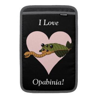 ¡Amo Opabinia! Funda Macbook Air