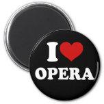 Amo ópera imán para frigorifico
