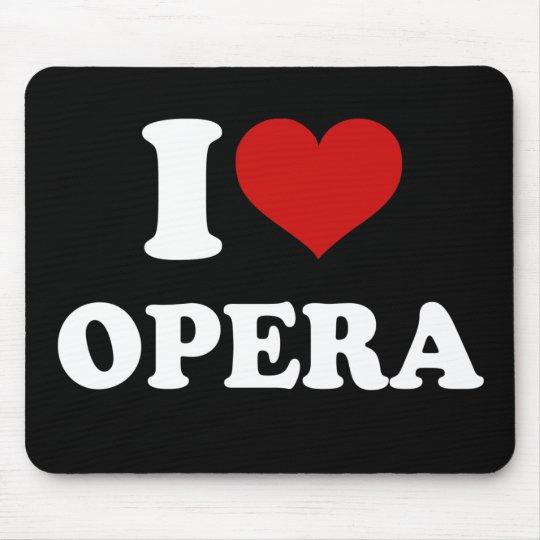 Amo ópera mousepads