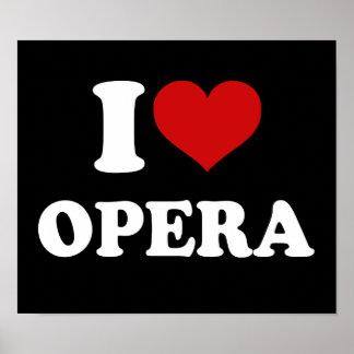 Amo ópera impresiones