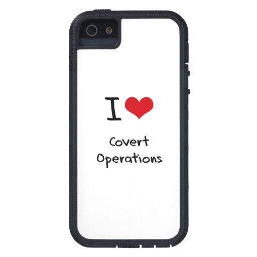 Amo operaciones secretas iPhone 5 funda