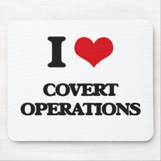 Amo operaciones secretas mouse pads