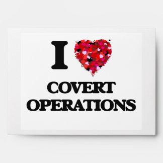 Amo operaciones secretas sobre