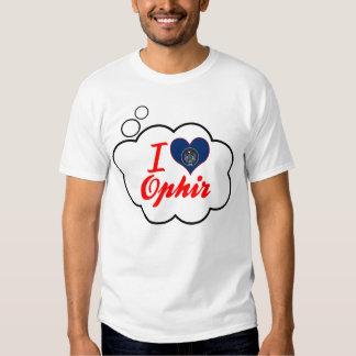 Amo Ophir, Utah Camisas