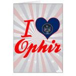 Amo Ophir, Utah Felicitación
