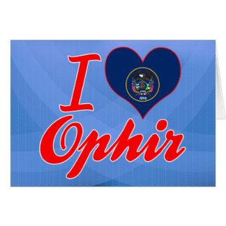 Amo Ophir, Utah Tarjeta De Felicitación