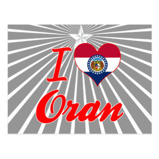 Amo Orán, Missouri Tarjeta Postal