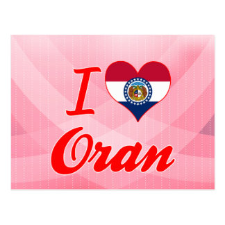 Amo Orán, Missouri Tarjetas Postales