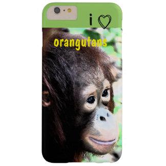 Amo orangutanes funda barely there iPhone 6 plus