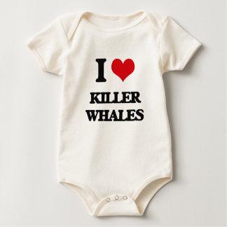Amo orcas body para bebé