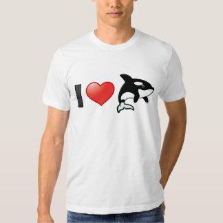 Amo orcas camisas