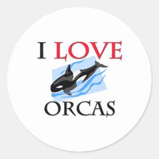 Amo orcas etiquetas