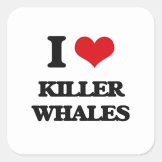 Amo orcas colcomanias cuadradases