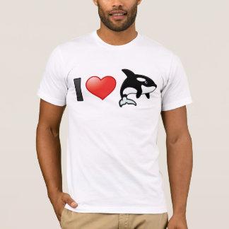 Amo orcas playera