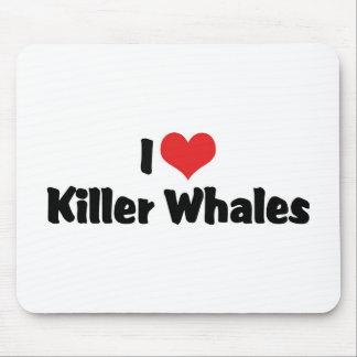 Amo orcas tapetes de raton