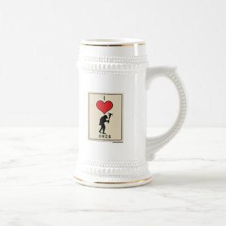 Amo Orcs Tazas De Café