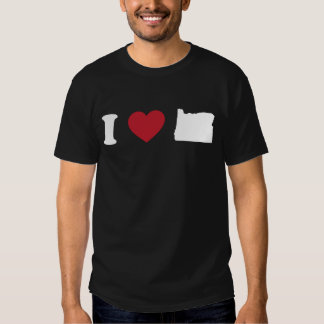 Amo Oregon Camisas