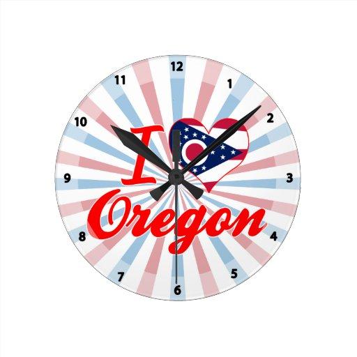 Amo Oregon, Ohio Reloj