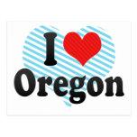 Amo Oregon Postales