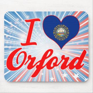 Amo Orford, New Hampshire Alfombrillas De Ratón