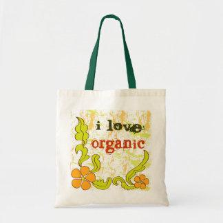 Amo orgánico - bolso bolsa tela barata