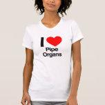 amo órganos camiseta