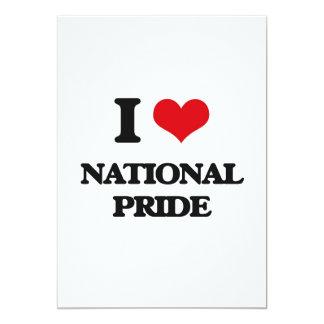 """Amo orgullo nacional invitación 5"""" x 7"""""""