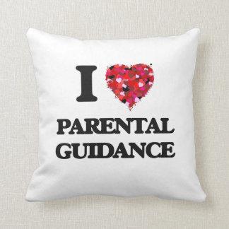 Amo orientación para padres cojines